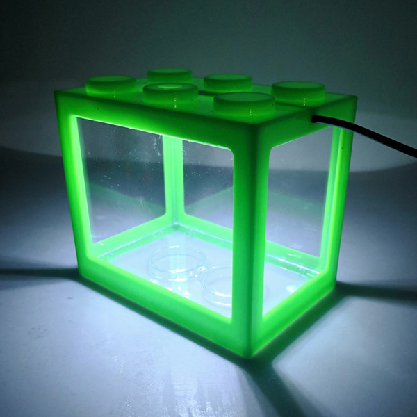 Green Cylinder-White Light Usb