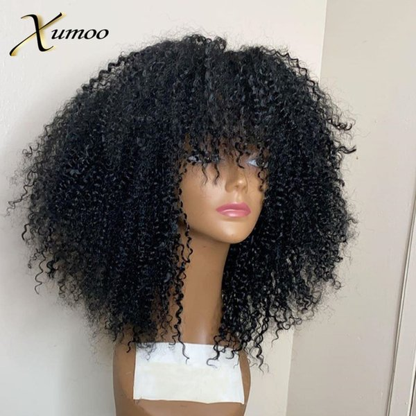 none lace150density 10inches afro kinky
