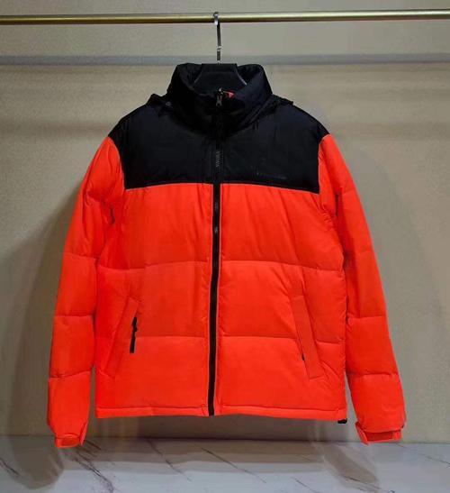 N style(no fur,have hooded)orange red