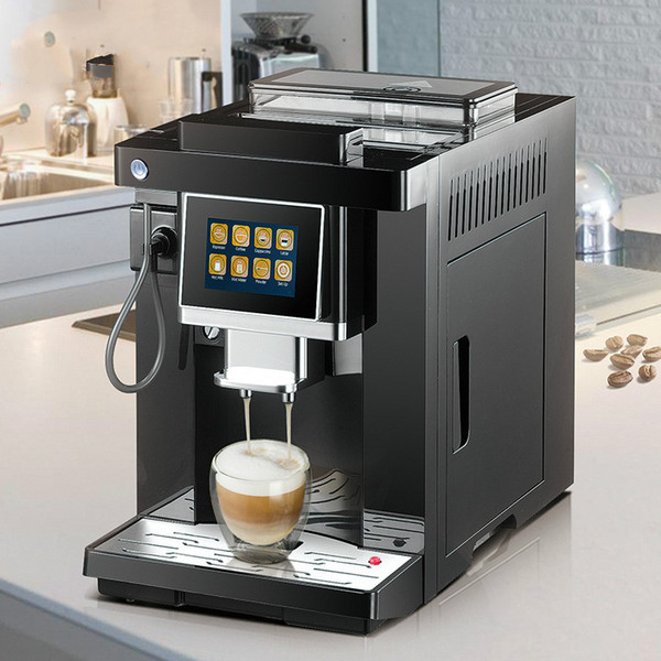 1300W 19Bar Fully automatic coffee machine Touch screen intelligent Fancy coffee machine Italian grinder coffee machine Brand Name : Midea Capacity (Cup) : >16 cups Function : ESPRESSO Type : Espresso Coffee Maker Attractive point in design Design highlights LED full touch screen
