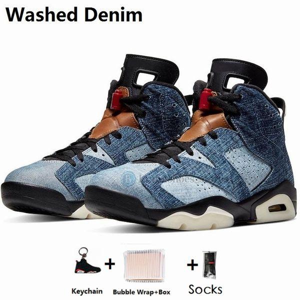 6s-lavado Denim