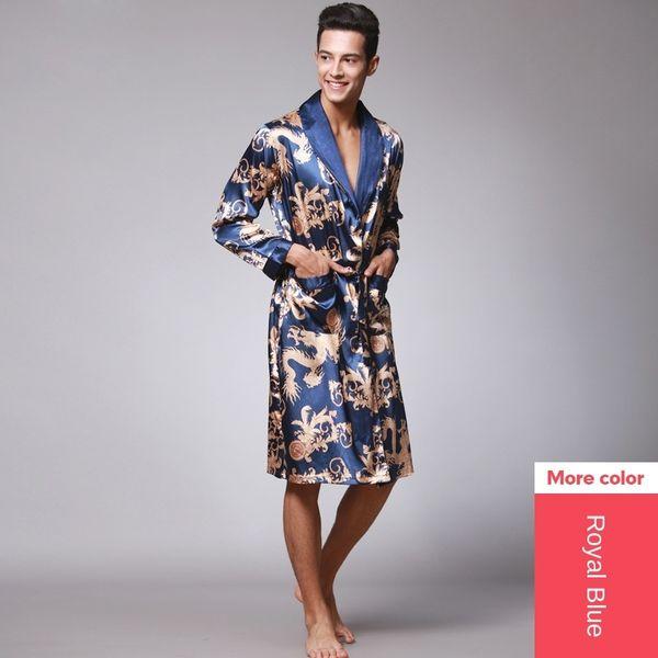 Single Robe Sapphire Blue