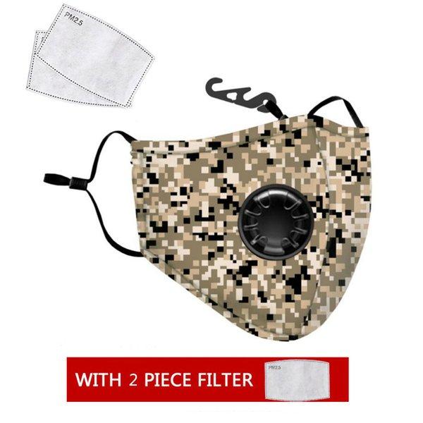 1 masque de camouflage + 2 de filtre