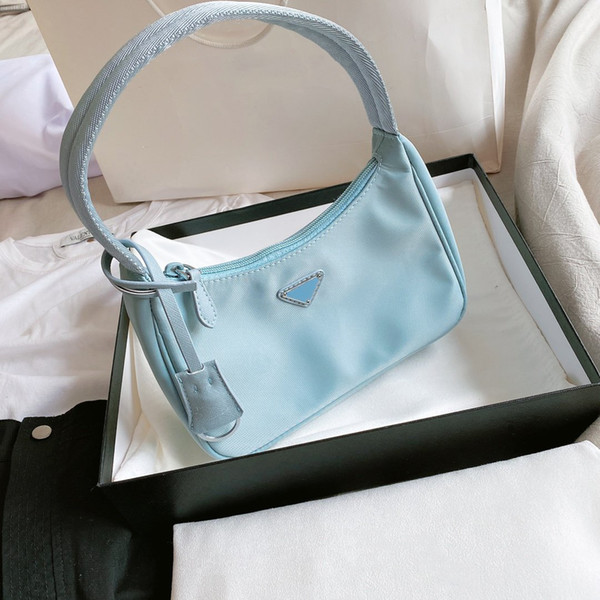 best selling Women Shoulder Bag Handbag Baguette Nylon Lady High Quality CFY20042550