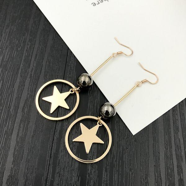Звезда серьги 5