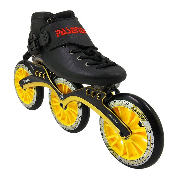 3x125 ruedas amarillas