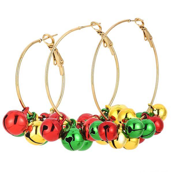 Boucles d'oreilles Cercle de Bell 3 à 1 Set