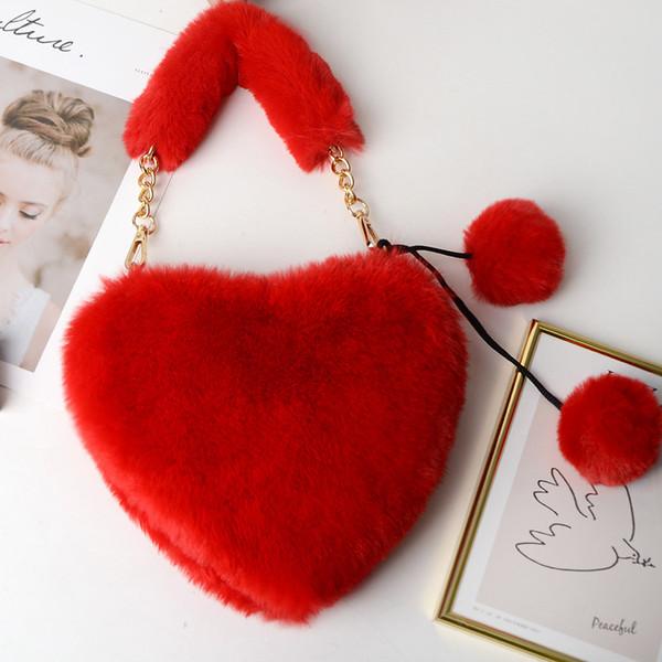 Red Heart Handbag