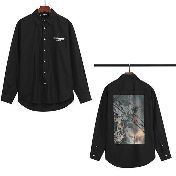 top popular 2020 Men Shirt fashion Reflective women long sleeve popular jacket printed sweater coupley high-quality Men keep warm hoodie M-XXL 2020