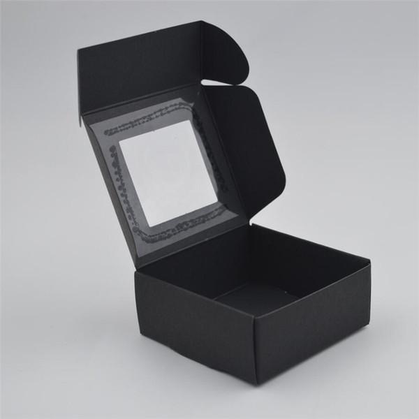 Black 6.5x6.5x3cm