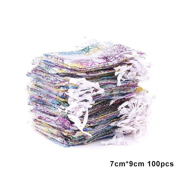 100pcs 7x9-blanco