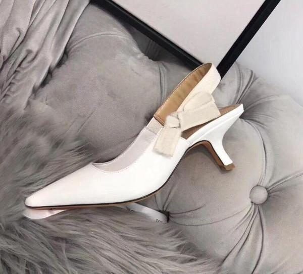 белые блестящие каблуки 6.5cm