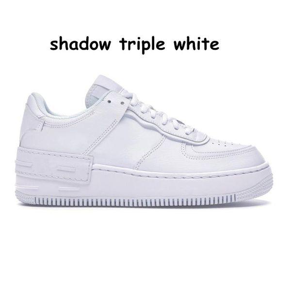 27 shadow triple white