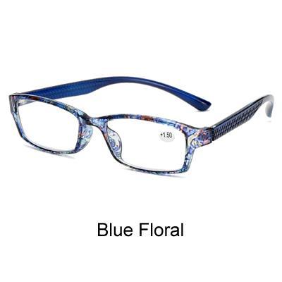 Floral azul