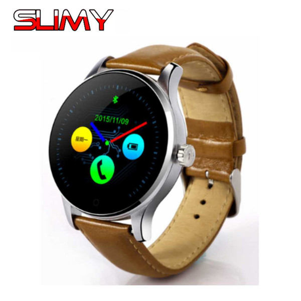 Slimy K88H Smart Watch Track Wristwatch MTK2502 Bluetooth Smartwatch Heart Rate Monitor Pedometer Dialing Watch for Women Men