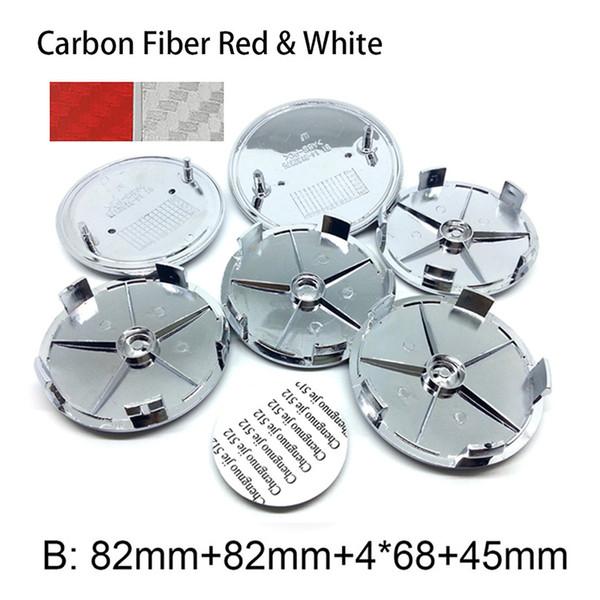 Karbon Kırmızı Beyaz B