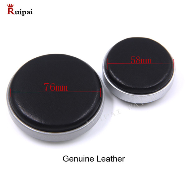 ruipai watch jewelry tools genuine leather 5394 case movement cushion casing pad holder 58mm and 76mm