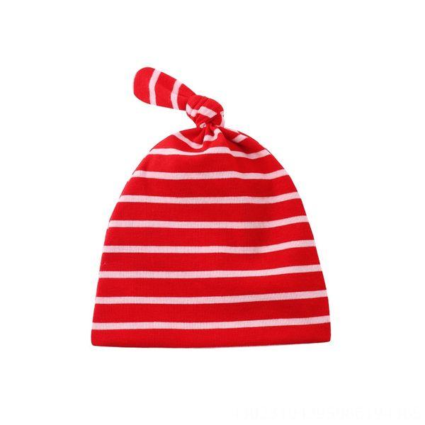 Красный и белый полосатый двухслойный