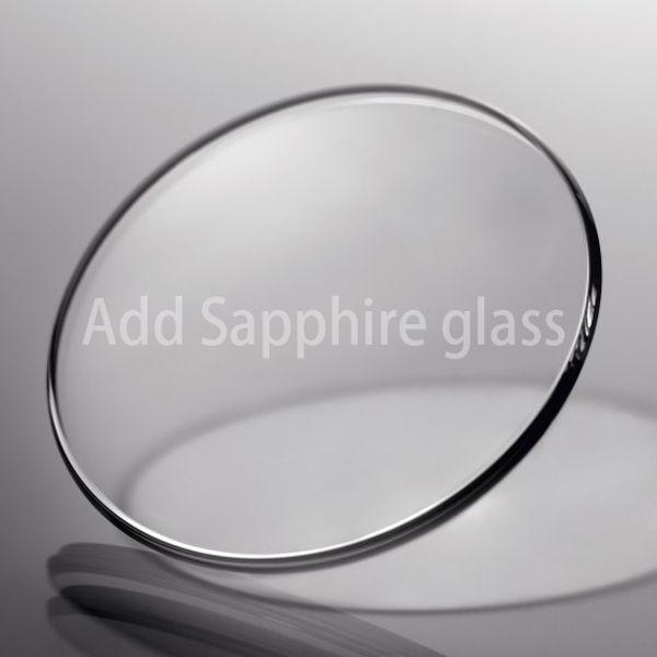 Saphir-Glas