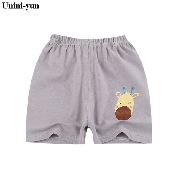 best selling Unini-yun Summer thin children wear shorts Boy baby and girl pants Solid color cotton 1-6 year old children's leisure pants