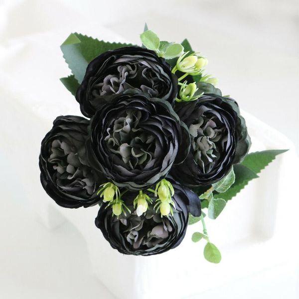 siyah, mor
