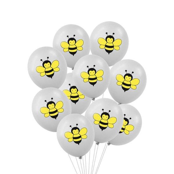 10pcs gray bee