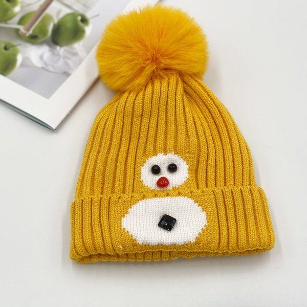 Снеговик Желтый