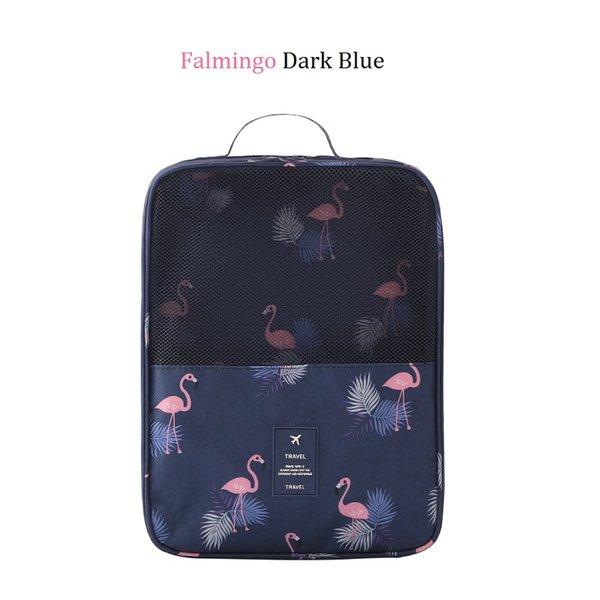 Flamingo azul escuro