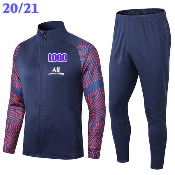 2021 다크 블루 인쇄 슬리브