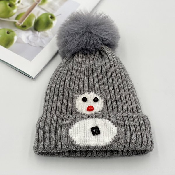 Снеговик серый