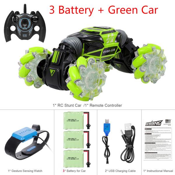 Yeşil 3battery