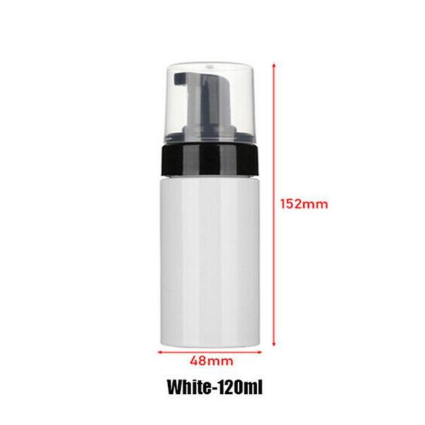 120ml di plastica bianca