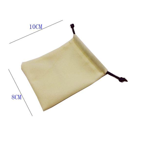 Sólo el bolso del paño 10 * 8cm