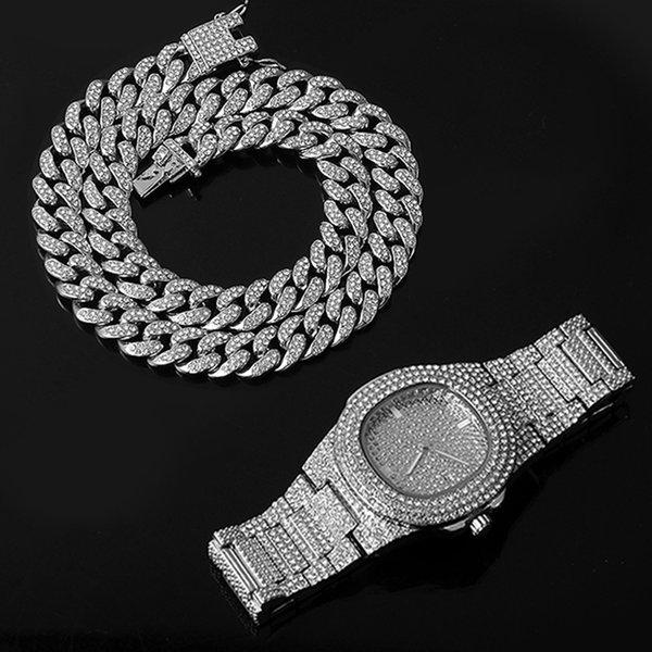 Часы и цепочки 50см