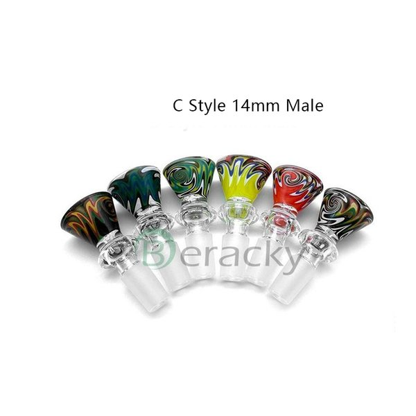 Estilo C 14 mm macho (color al azar Enviar)