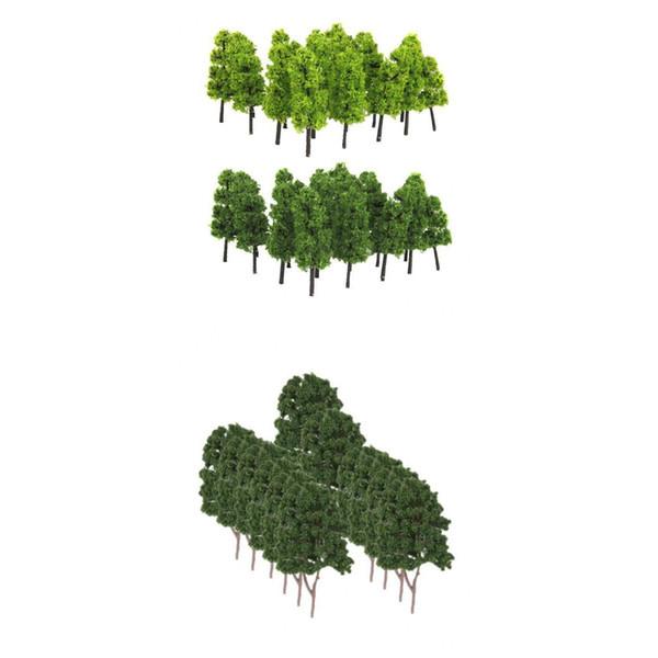 best selling 1 200 Train Model Trees & 1 150 Plastic Train Layout Scenery Model Trees