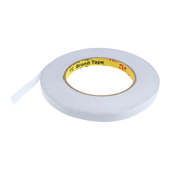 top popular 50m Strong Double Stick Tapes Double Sided Adhesive Foam Mounting Tape Roll   5 Sizes 2021