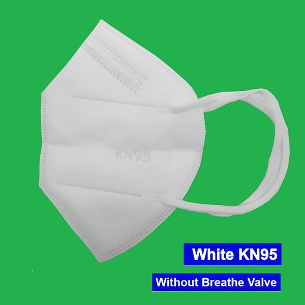 Máscara branca sem válvula