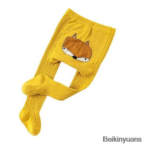 top popular high quality Cartoon pantyhose boy girl animal print cotton child baby socks children long legs warm children's clothing accessories 2021