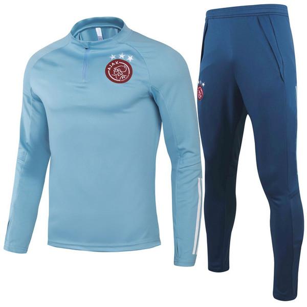 20 21 Ajax cielo azzurro con i Pantaloni blu