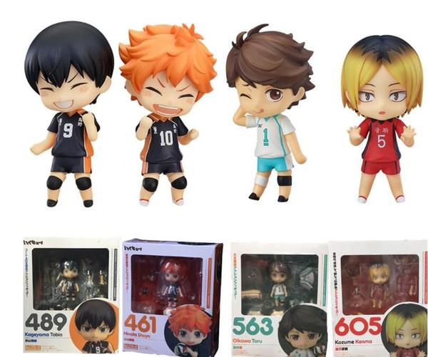best selling Anime Figure Haikyu Hinata Shoyo #461 Kageyama Tobio #489 Oikawa Tooru #563 Kozume Kenma #605 Cute Action Sport Kids Toys Doll