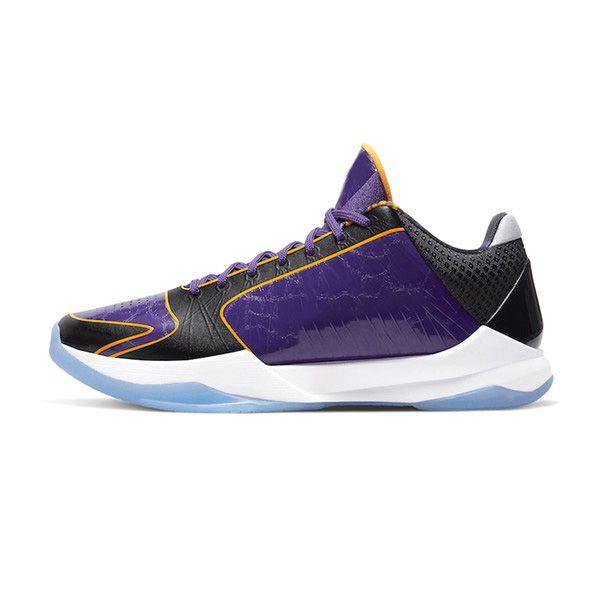 Lakers 40-46 púrpura