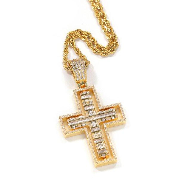 Colgante de oro de la cadena de la cuerda 24inch (60 cm)