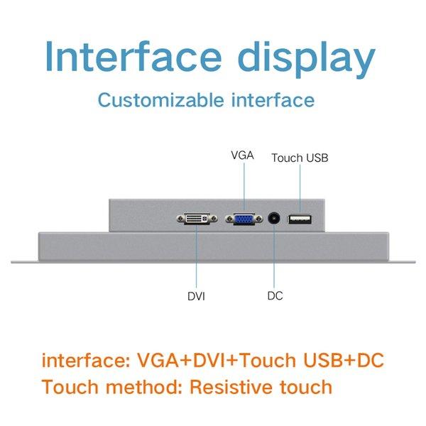 VGA DVI USB