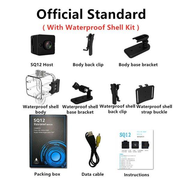 Añadir a prueba de agua Kit estándar de China