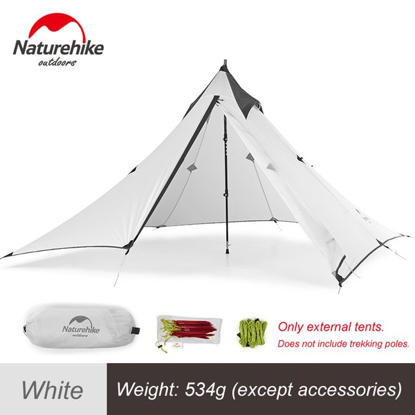 White External Tent