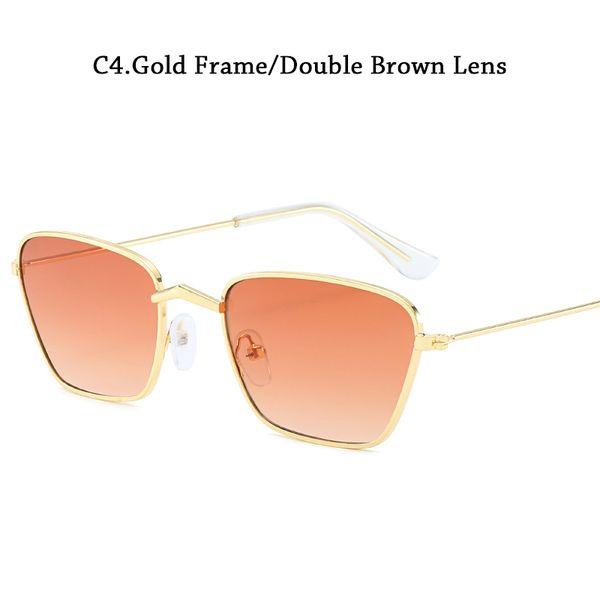 C4Double Brown Lens Cina