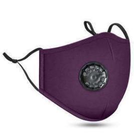 violet foncé avec valve de souffle