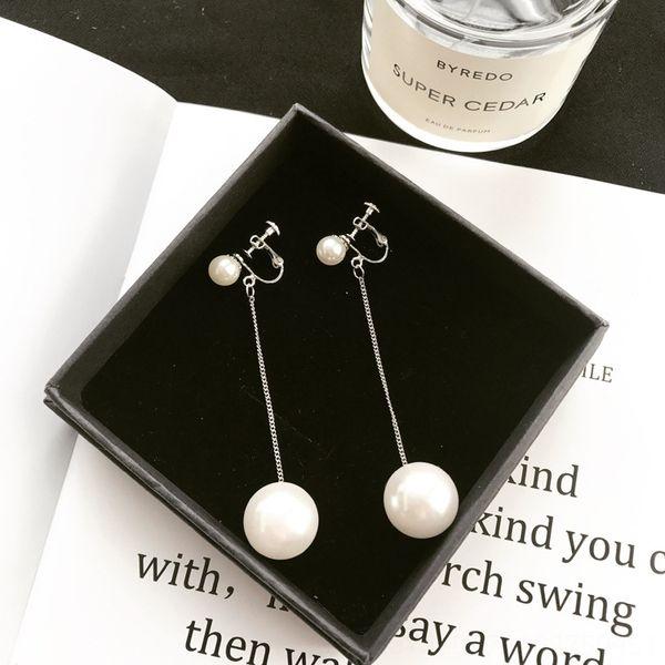 Clip del oído sin etiqueta de Pearl Silver 1