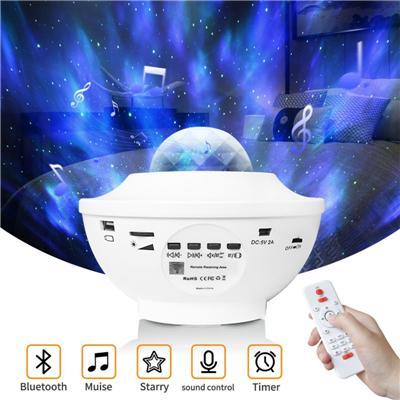 White Remote Bluetooth voice control